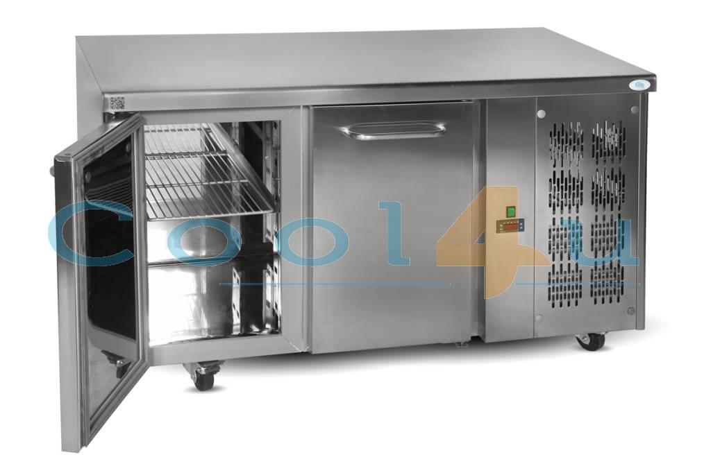 SB-13 RVS Gekoelde werkbank 1.42 m 2
